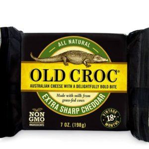 401b4f1f72c2c Sharp White Cheddar Cheese – Old Croc Cheese Aged Cheddar