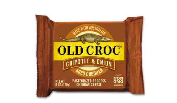 Old Croc Chipotle and Onion Cheddar Cheese