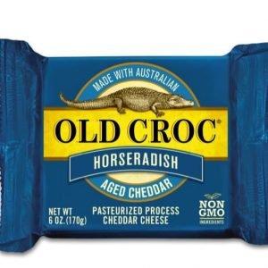 Horseradish Cheddar Cheese - Old Croc Aged Cheddar